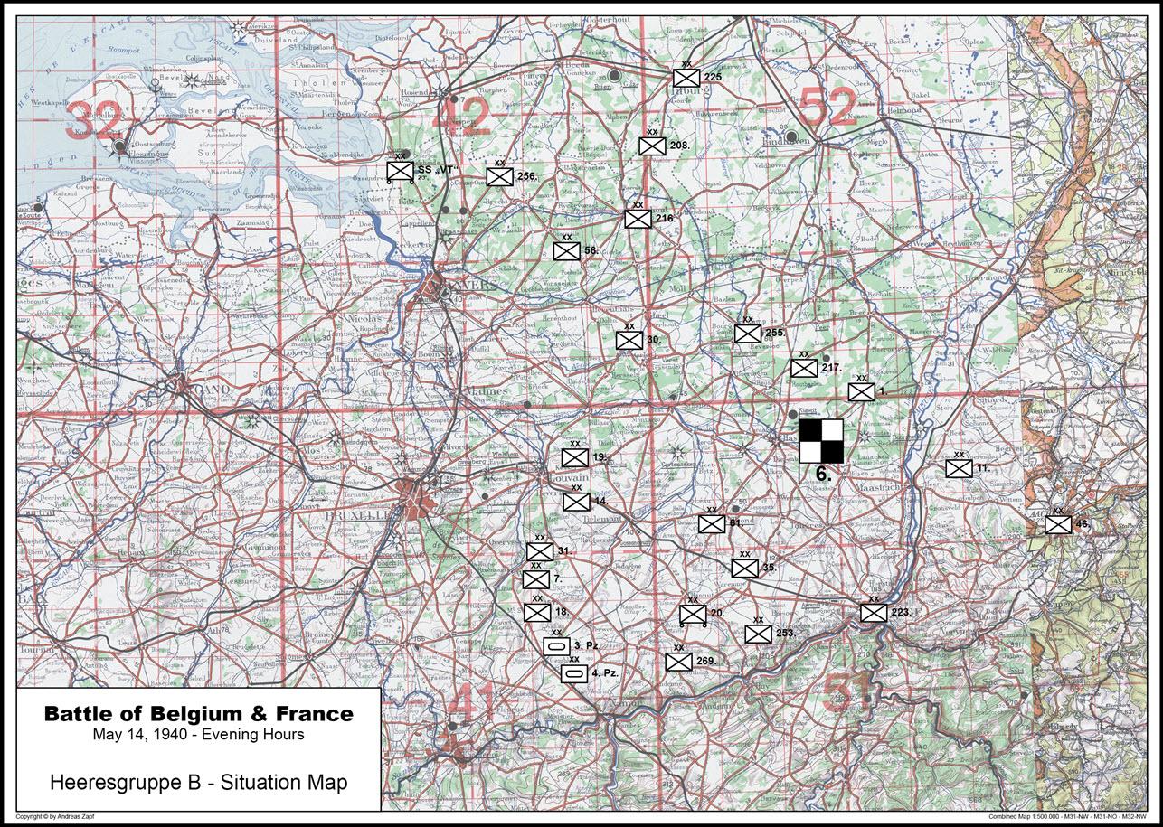 1940-05-14 - Lage West HGr. B