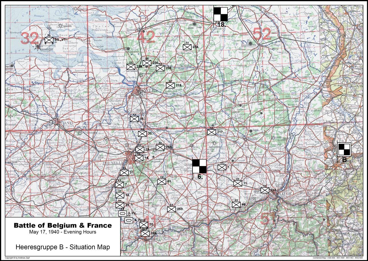 1940-05-17 - Lage West HGr. B