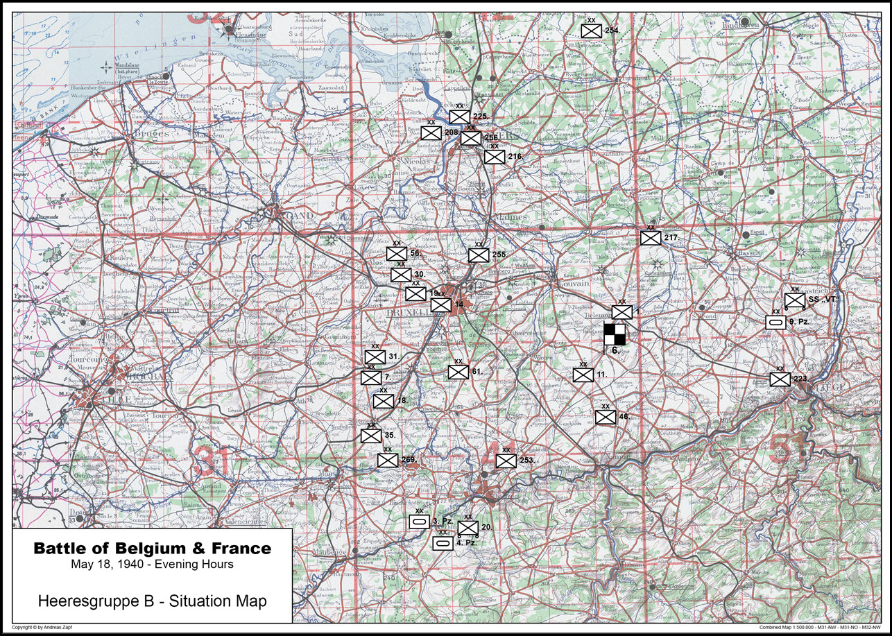 1940-05-18 - Lage West HGr. B