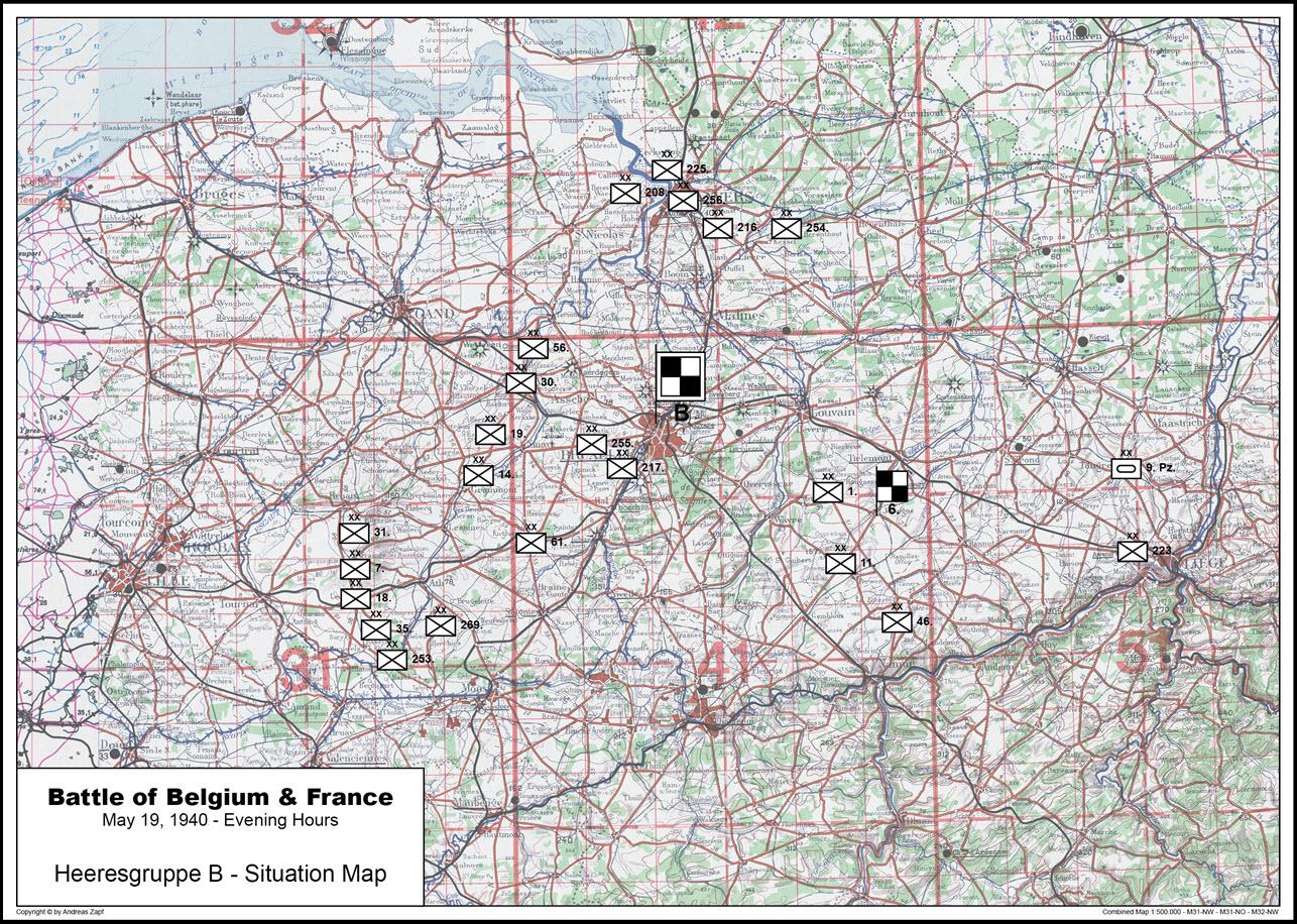 1940-05-19 - Lage West HGr. B