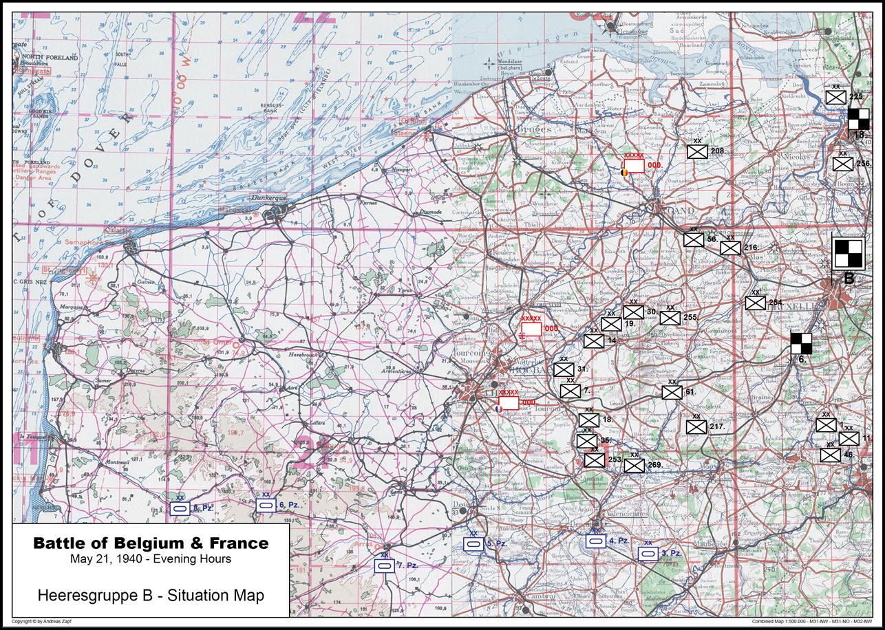 1940-05-21 - Lage West HGr. B