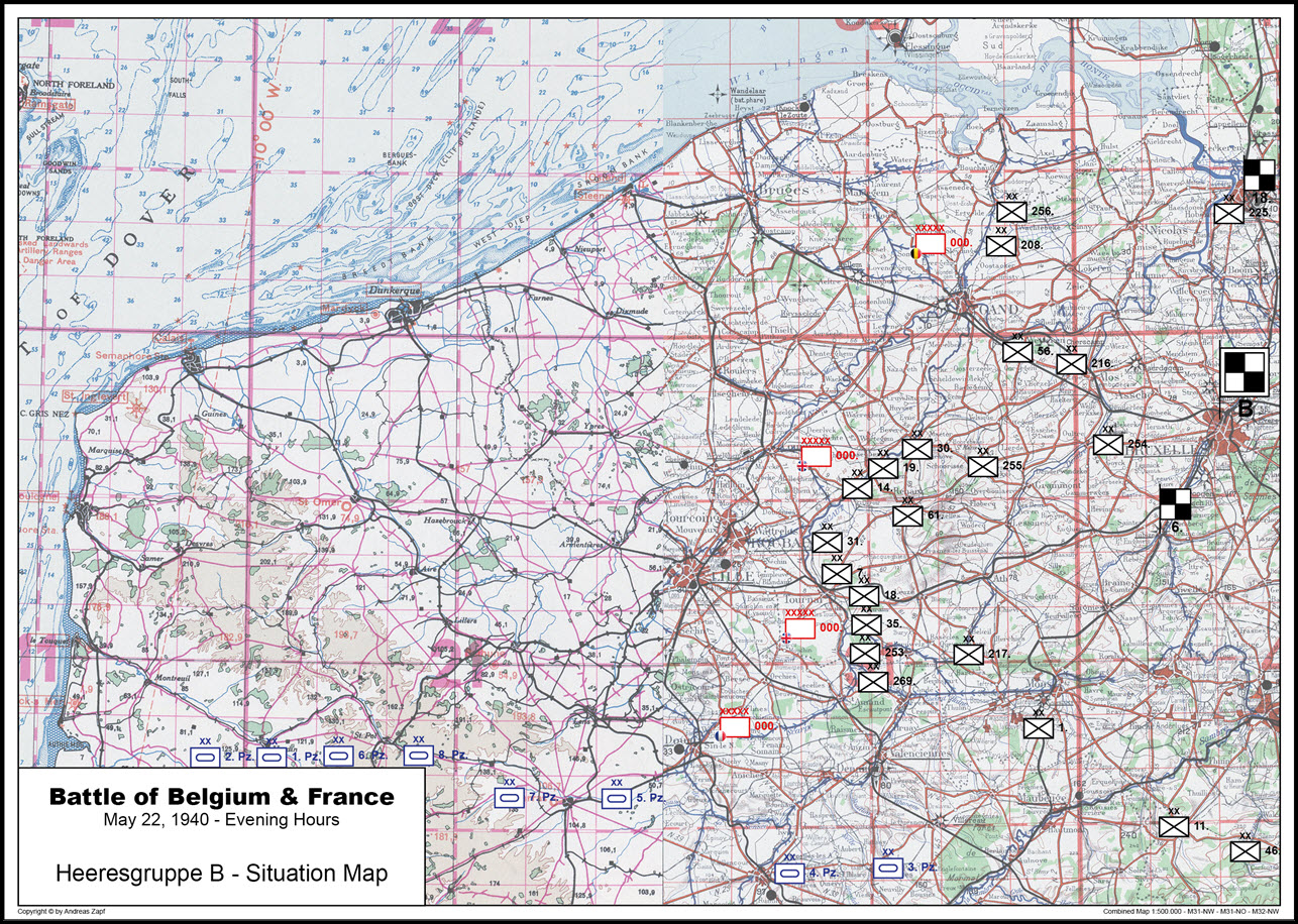 1940-05-22 - Lage West HGr. B