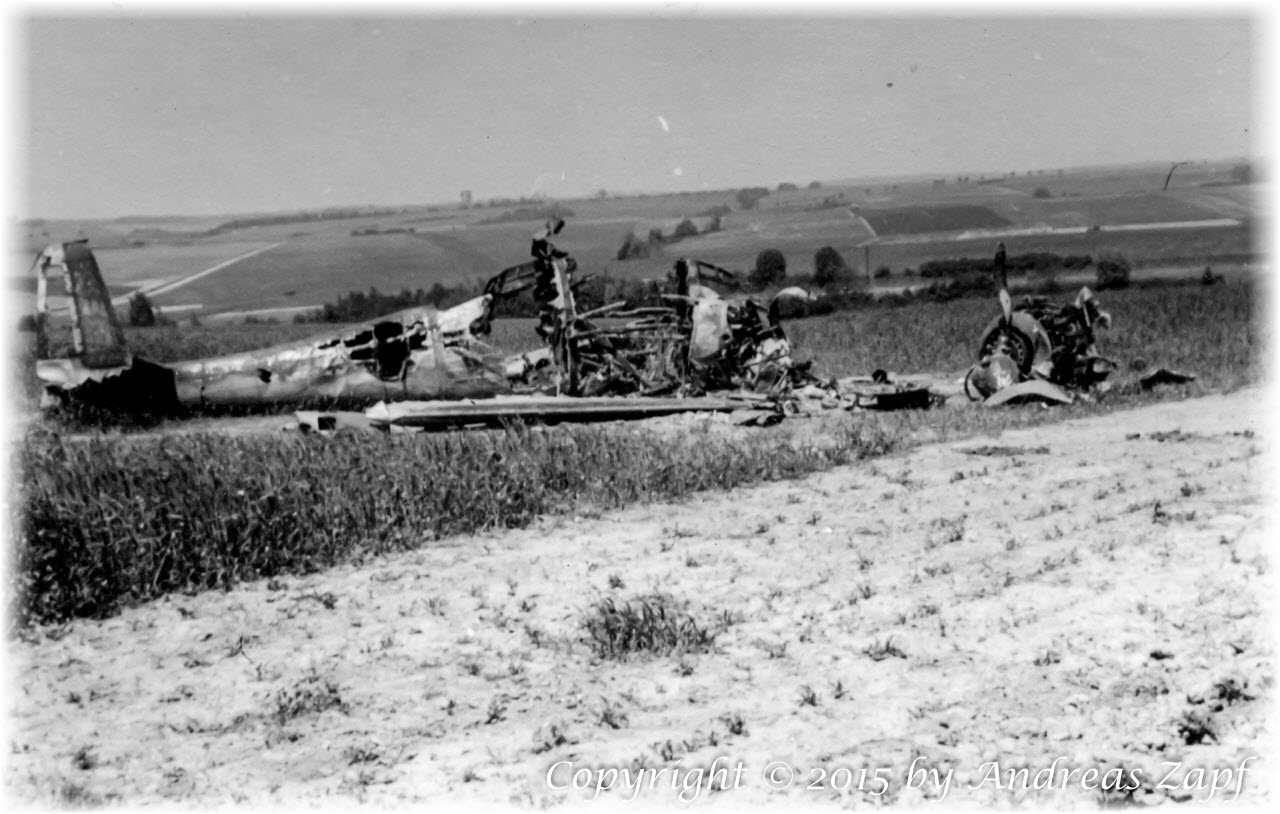 Image 01 - Destroyed French Aircraft
