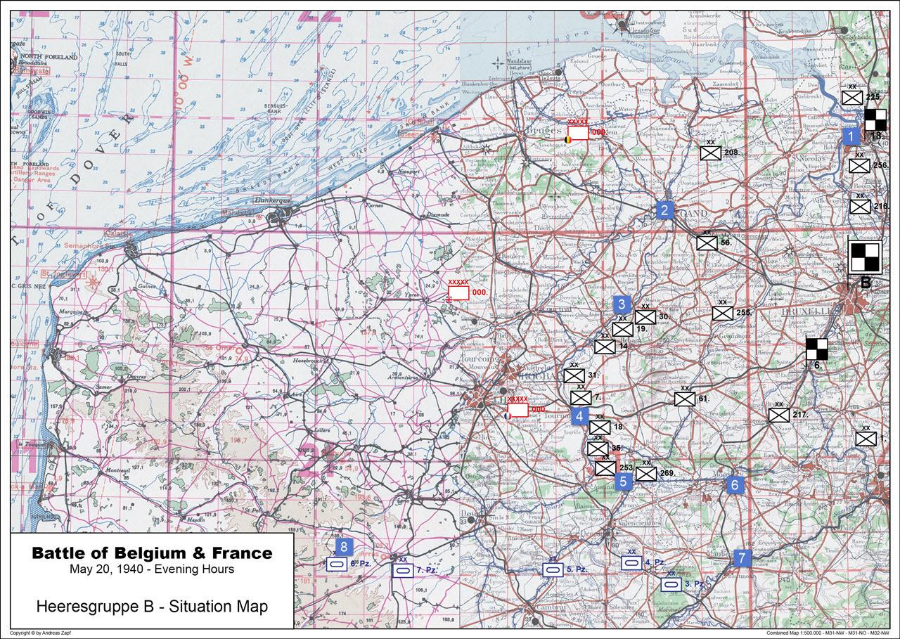1940-05-20 - Lage West HGr. B
