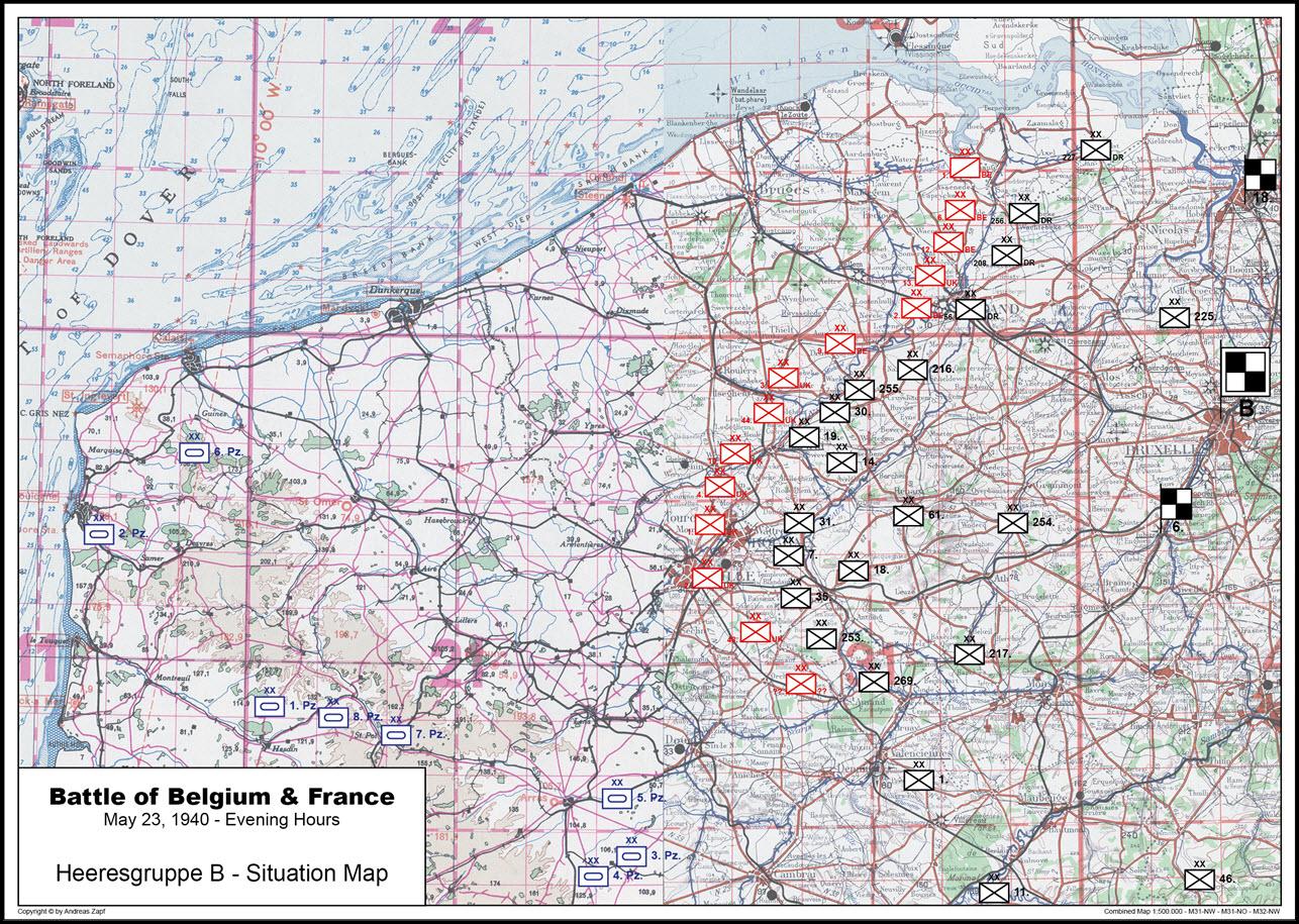 1940-05-23 - Lage West HGr. B