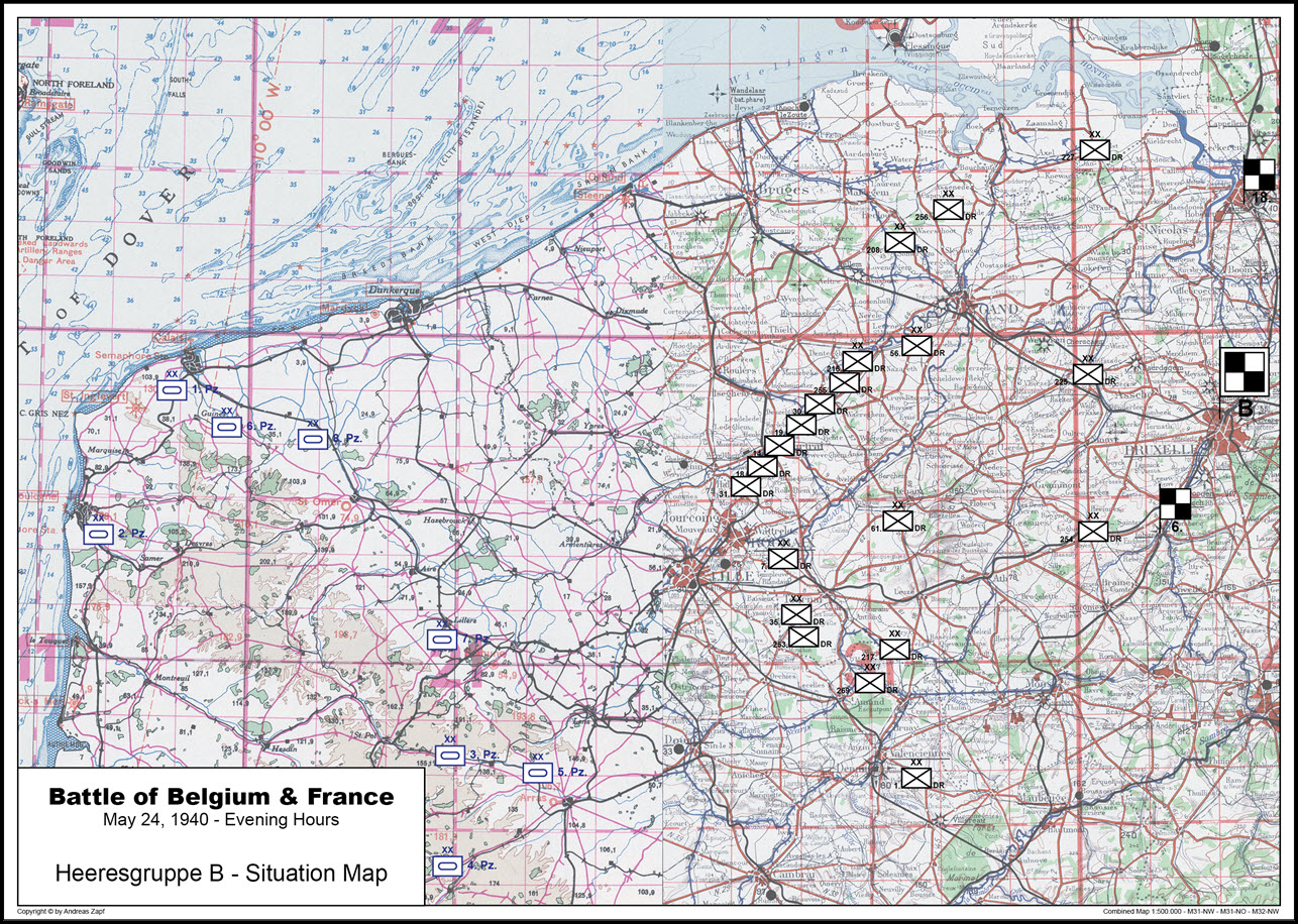 1940-05-24 - Lage West HGr. B
